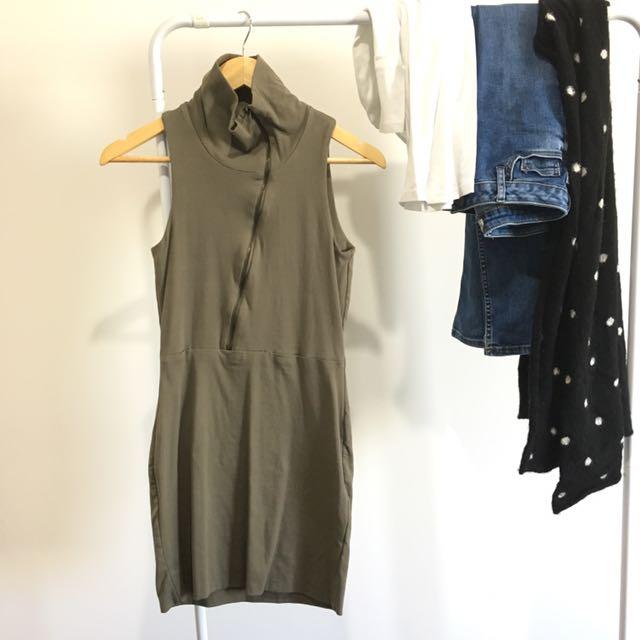 Kookai Turtleneck Dress