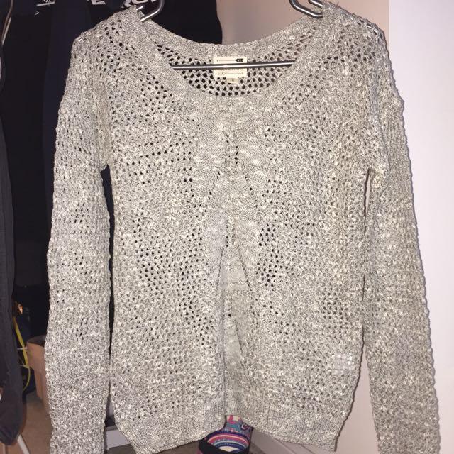 LA hearts knit sweater