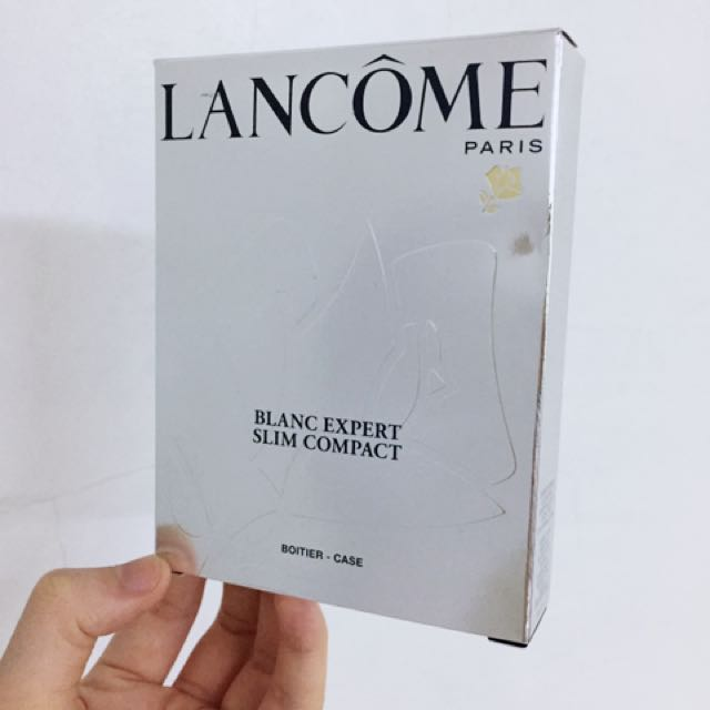 蘭蔻Lancome激光煥白粉餅包裝盒(僅紙盒)