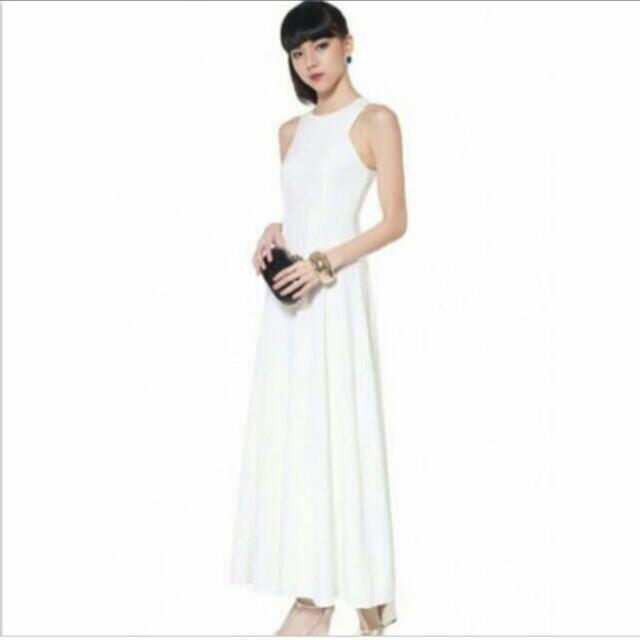 fd7f4f1d2c8 LB Love Bonito Rodella Maxi Dress In White (XS)