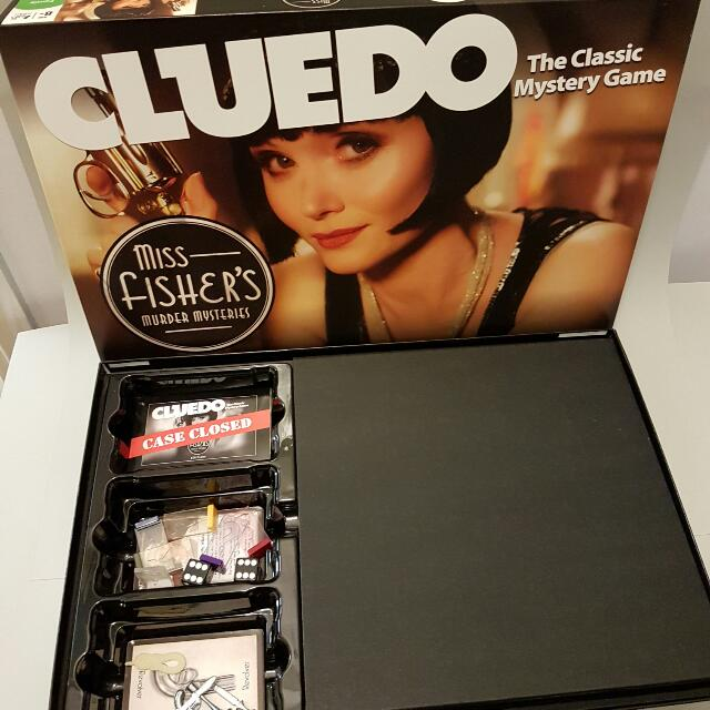 Limited Ed Miss Fisher Cluedo
