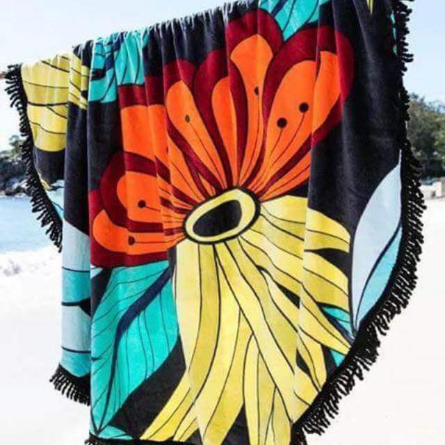 Mandala's Beach Towel