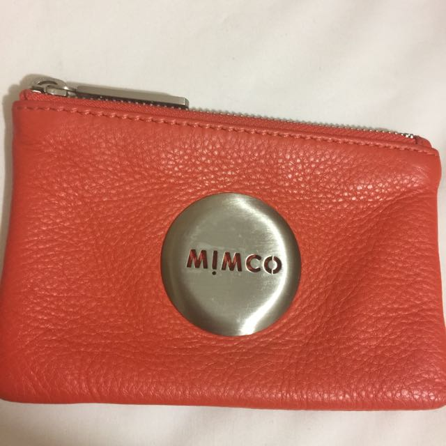 Mimco Tangerine Pouch