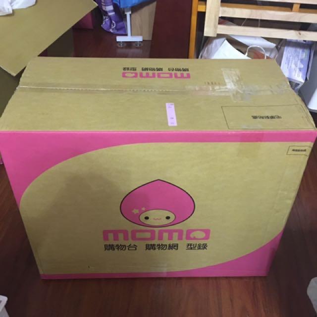 Momo紙箱(大)須自取#六月免購物直接送
