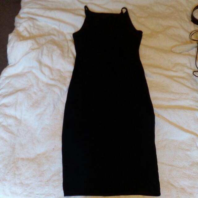 Including Postage Morrou Black Dress