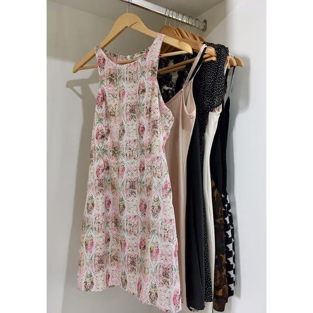 Multicoloured Short Dress