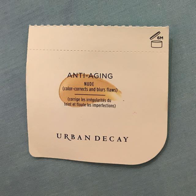 New Urban Decay Sample Anti Aging Nude Eyeshadow Primer Potion Long-Lasting Eyeshadow Base
