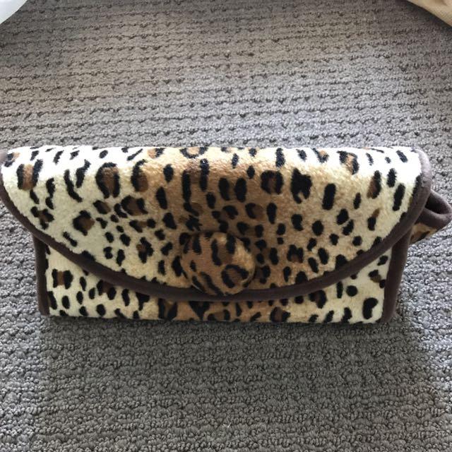 New🌺Small Leopard Makeup Bag
