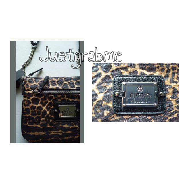 Nicole Jodie Leopard Mini Bag