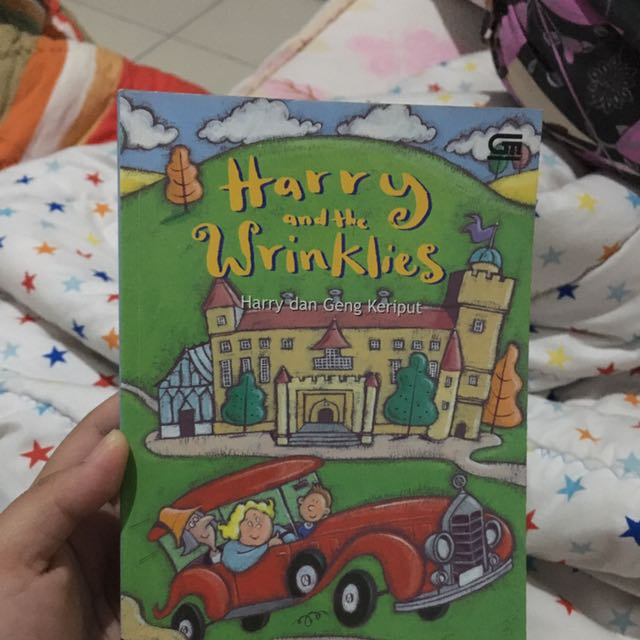 Novel Harry and the Wrinklies (Harry dan Geng Keriput)