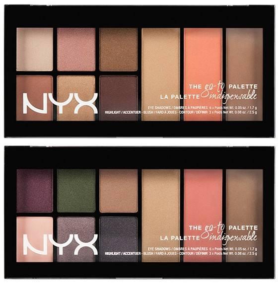 NYX Go To Eyeshadow Palette