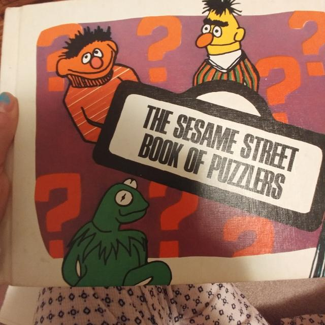 Original 1970 Sesame St Book