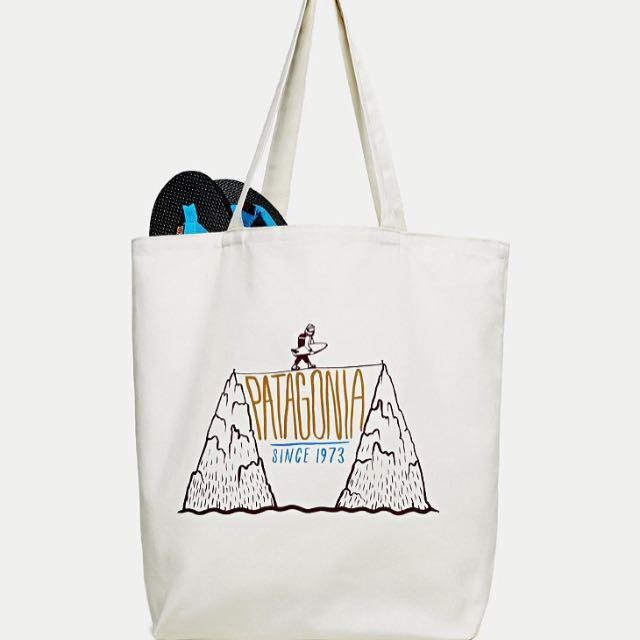 Patagonia canvas bag 托特包/布包/肩背包