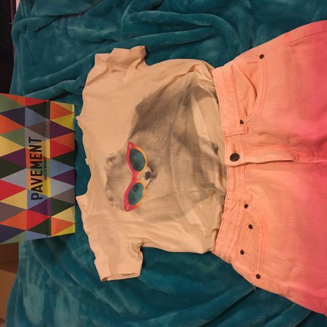 Pavement Dog Print Shirt