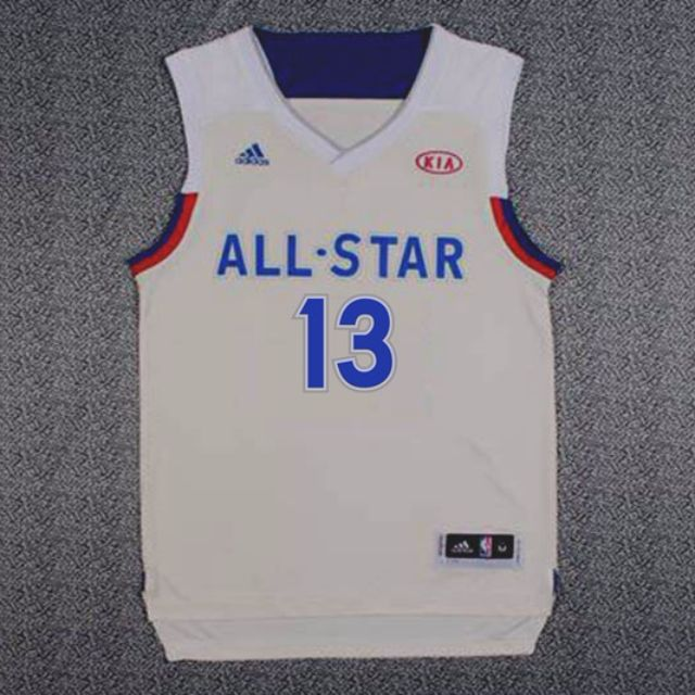 8c5712d55  PO  NBA All Star Indiana Pacers Paul George Swingman Jersey