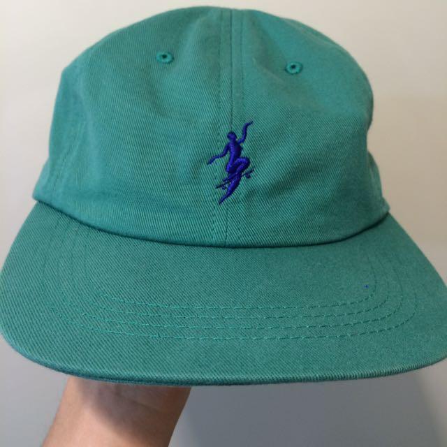 板牌polar綠色帽子