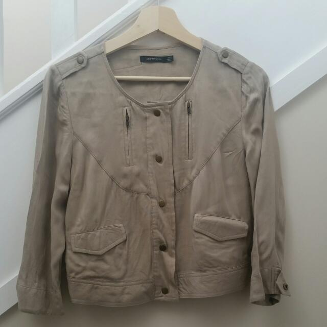Portmans Cropped Light Weight Jacket