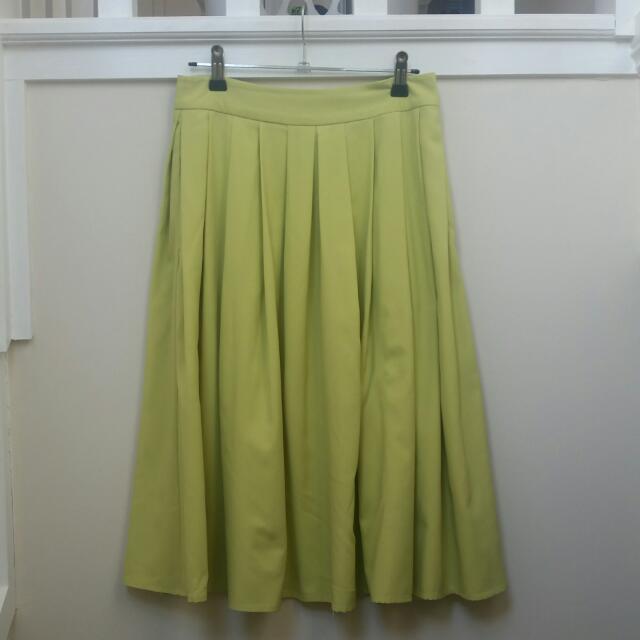 Portmans Midi A-line Skirt