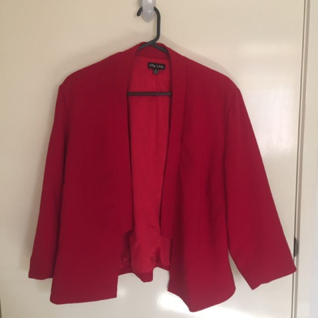 Pre Loved City Chic Plus Size Jacket. Size - Medium