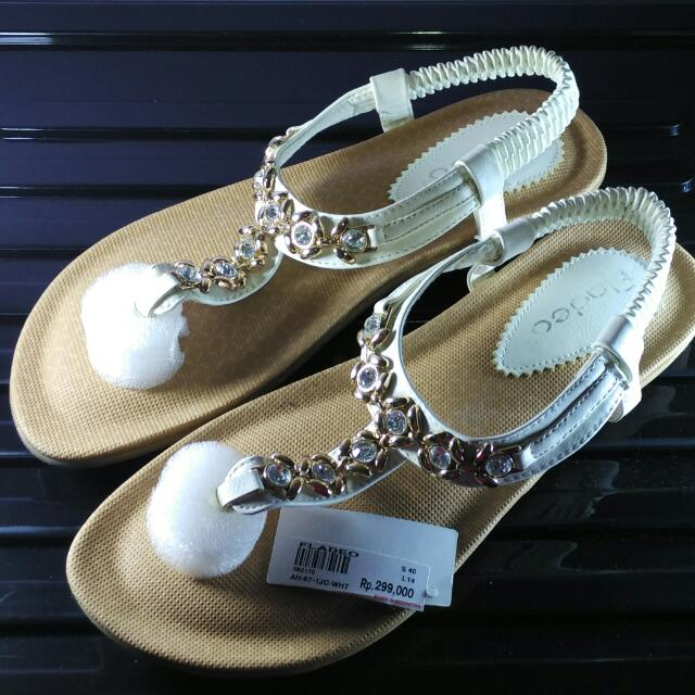 [PRELOVED NEW] Fladeo Sandal