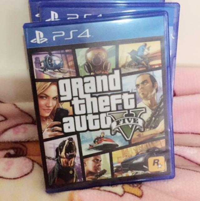 PS4光碟 GTA