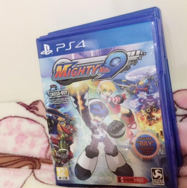PS4光碟 MIGHTY No.9
