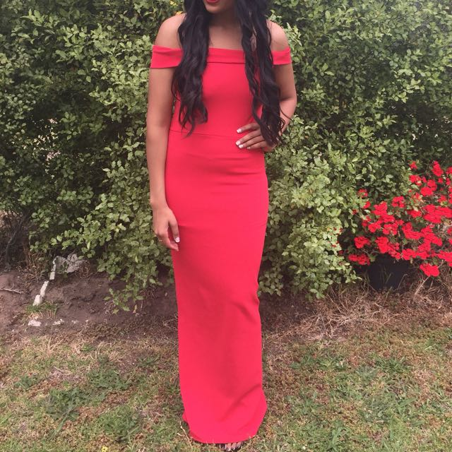 Red Formal Dress Size 8
