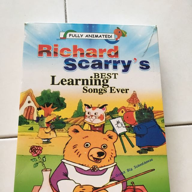 Richard scarry's Best Learning Song Ever DVD