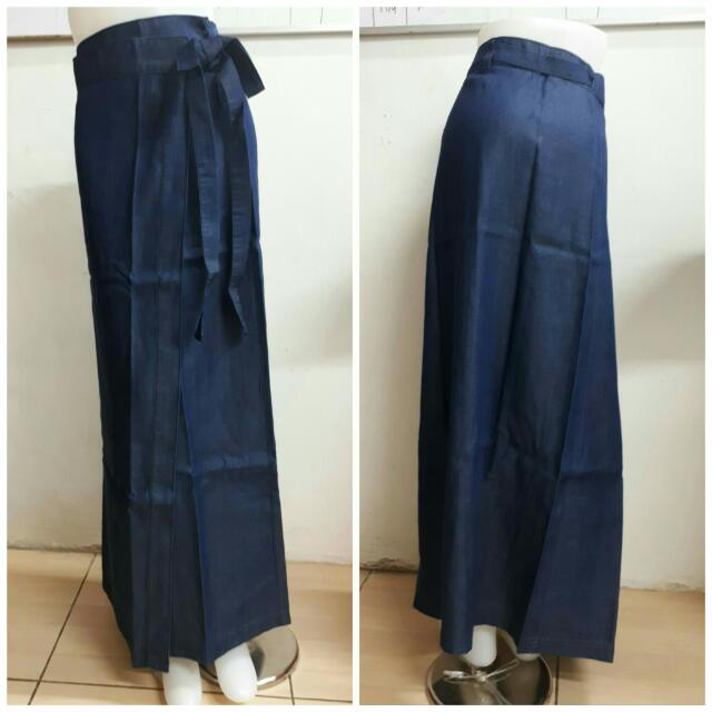 Maxi Jeans With Bow