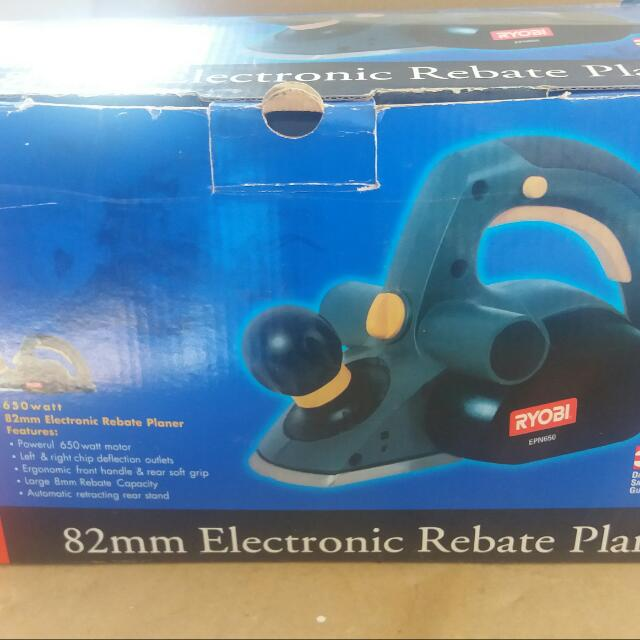RYOBO 82mm Electronic Rebate Sander