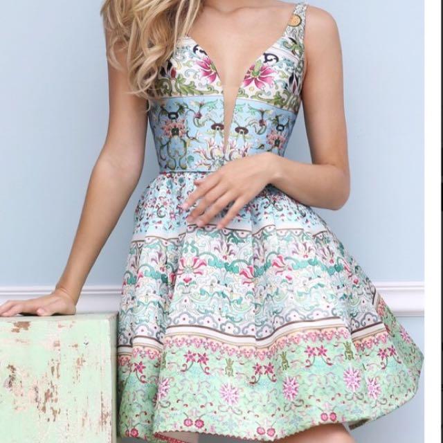 Sherri Hill Dress 50781 Size 2 (6 Aus)