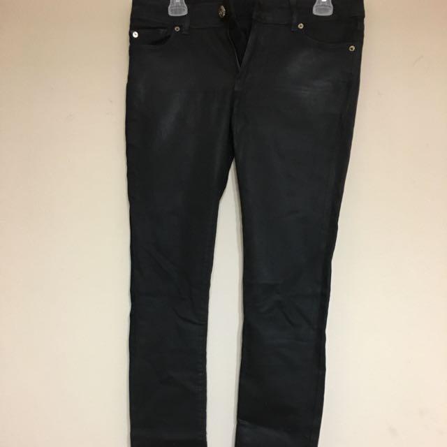 Skinny Black Jeans (Shimmery look)