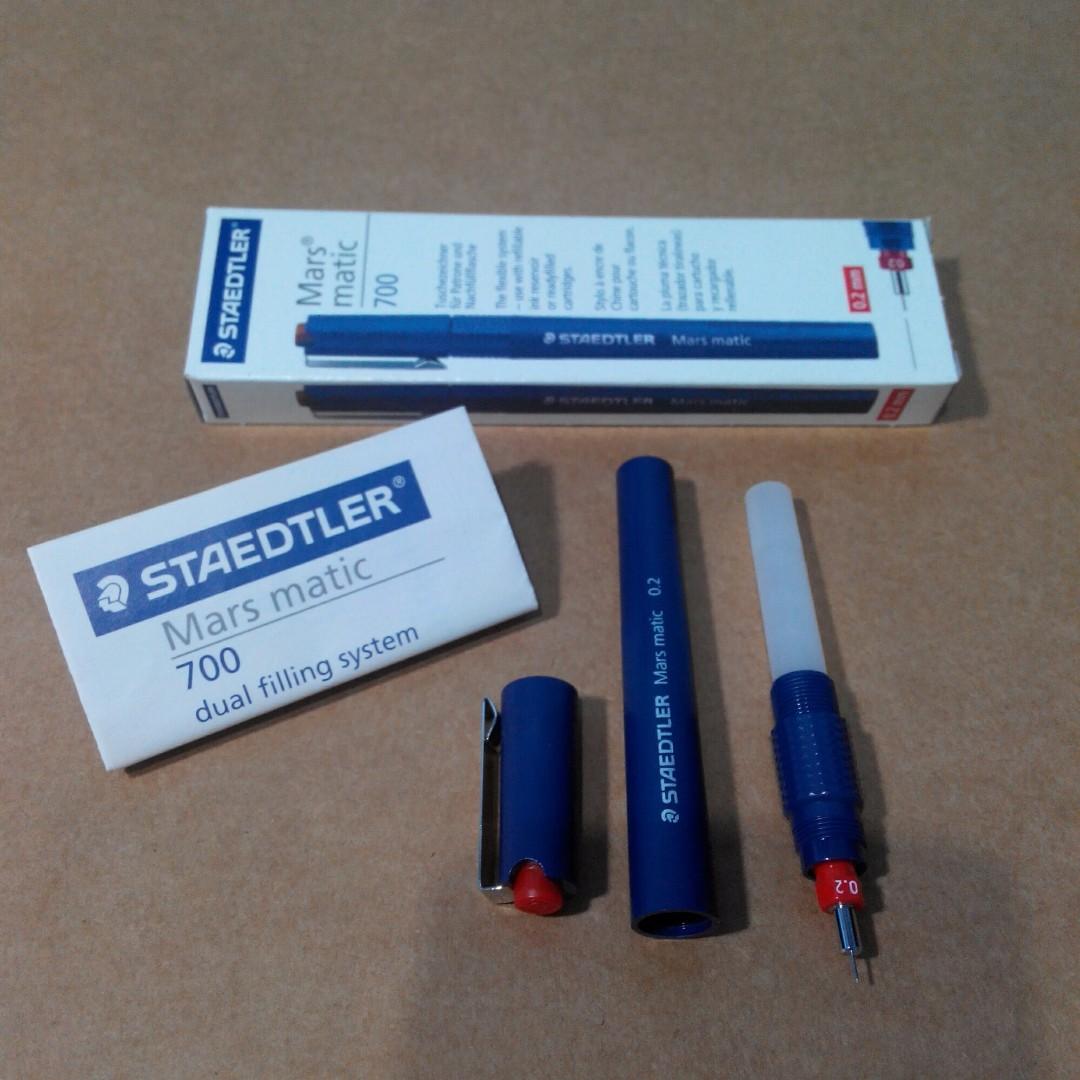 STAEDTLER Mars matic 700(Tech Pen 0.2mm)