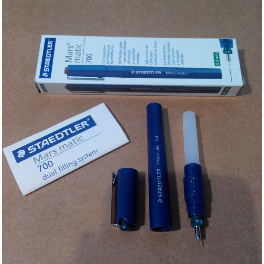 STAEDTLER Mars matic 700(Tech Pen 0.4mm)