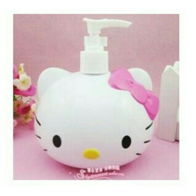 Tempat Sabun Cair Hello Kitty