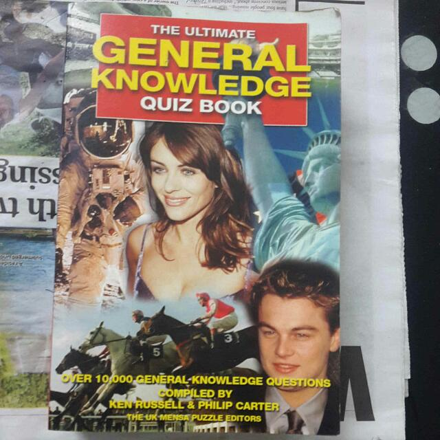 The General Knowledge Quiz Book #Haloween50