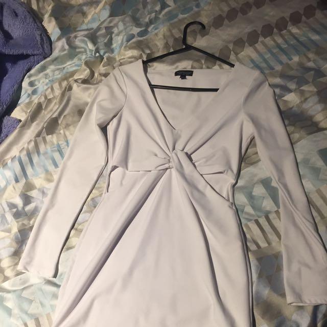 Top shop White Dress
