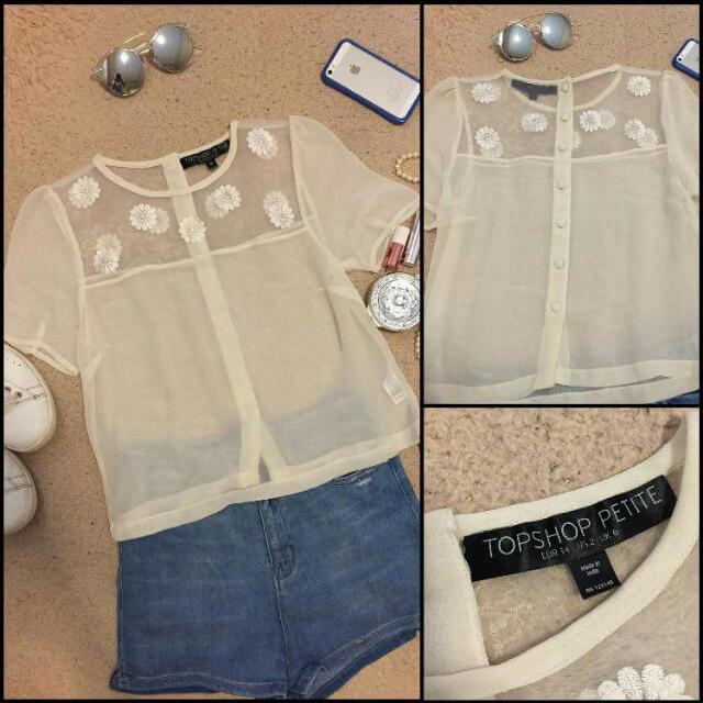 Topshop Blouse ❎reserved❎
