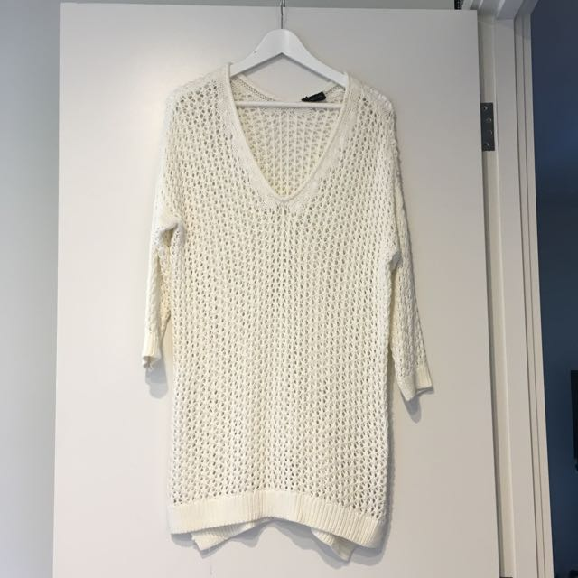 Topshop Cream Knit