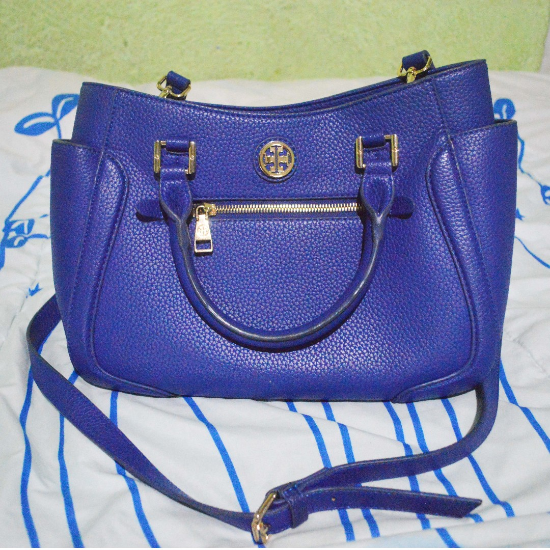 Tory Burch Blue Bag