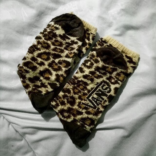 VANS Leopard Textured Socks