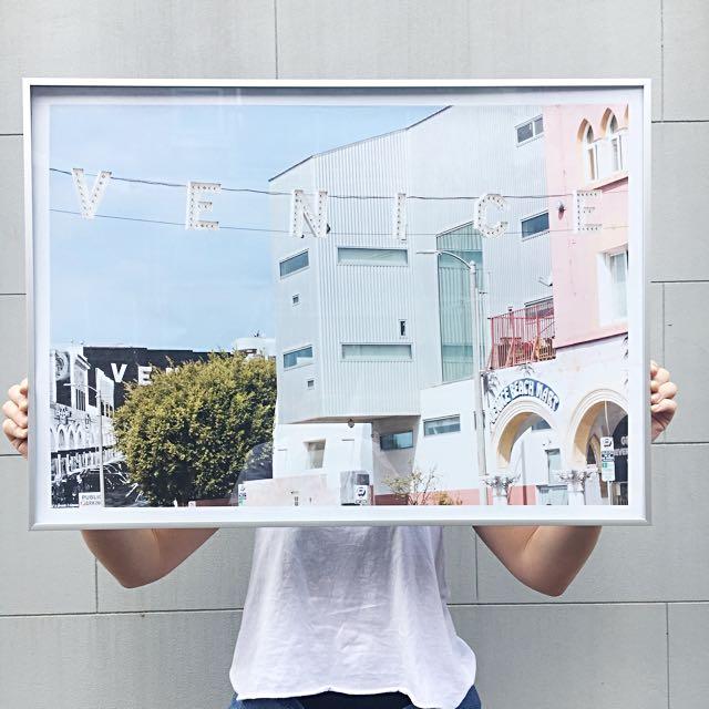 Venice Beach Art Print - 50x70cm