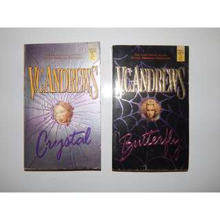 VC Andrews Pocketbooks (Crystal/Butterfly)