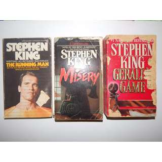 Stephen King Random Pocketbooks