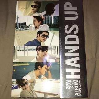 2PM HANDS UP LIMITED EDITION