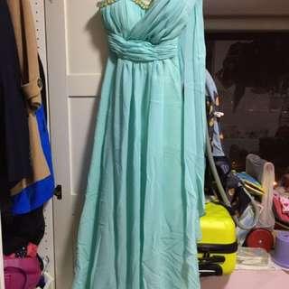 姐妹裙Tiffany Blue
