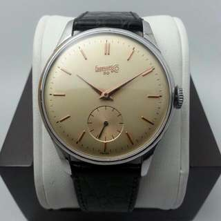 38mm Eberhard & Co. Manual Caliber 137 1950s Jumbo Size !!!