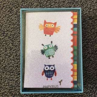 Papyrus Owl Cards