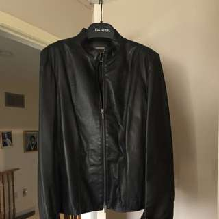 Black Daniel Leather Jacket