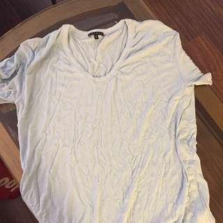 Theory Baby Blue Tshirt